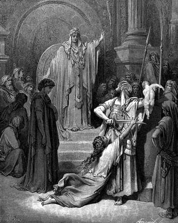 Ilustracija: Salomonovsko rješenje, Dore