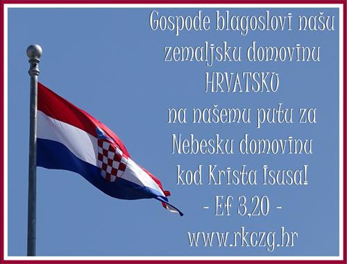 Ilustracija: Blagoslov za Hrvatsku