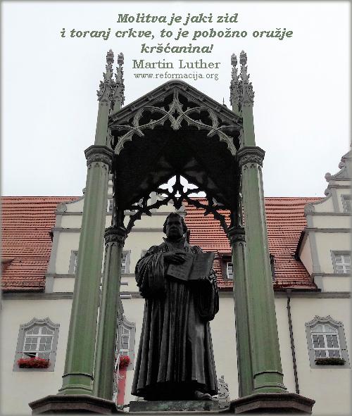 Martin Luther o molitvi