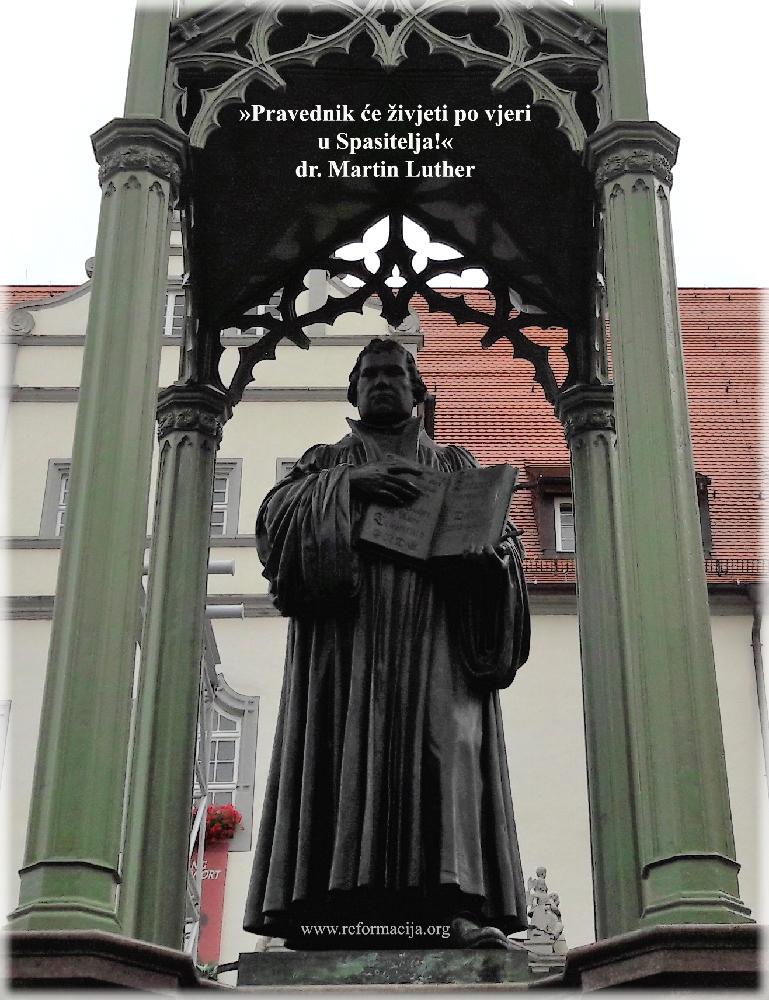 Luther: Vjera u Spasitelja